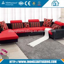 Living Room Furniture italian upholstery fabric sofa