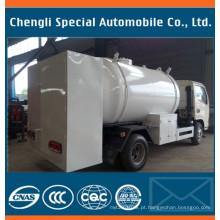Caminhão superior do cilindro do distribuidor 5cbm LPG do cilindro do projeto para a venda