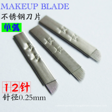 Hot selling tattoo needle Sharp microblading blades All size of microblading for eyebrow