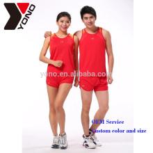 L'école de marque de YONO et le sport de course de club portent des vêtements de sports personnalisés Sublimation unisexe