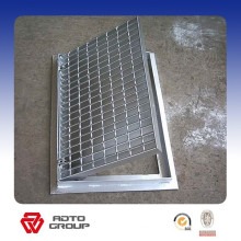 Steel decorative metal grate