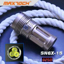 Maxtoch SN6X-15 3 * Cree T6 3250 Lumen hellsten Swat Taschenlampe