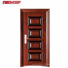 TPS-043 Puertas chinas Puertas metálicas de seguridad Interior utilizado