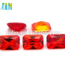 cubic zirconia decorative amethyst stones for clothes decoration