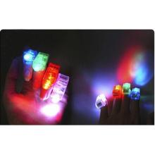 Lumière promotionnels personnalisés parti coloré en plastique LED Finger