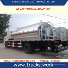 Dongfeng LHD ou Rhd asfalto caminhão de transporte de distribuição