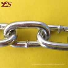 Горячего погружения Гальванизированная цепь DIN764 Утюг среднего звена