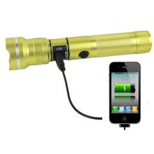 Poppas 6612 Novo carregador USB Multifuncional RoHS Power Banco lanterna tocha para Mobile Charging