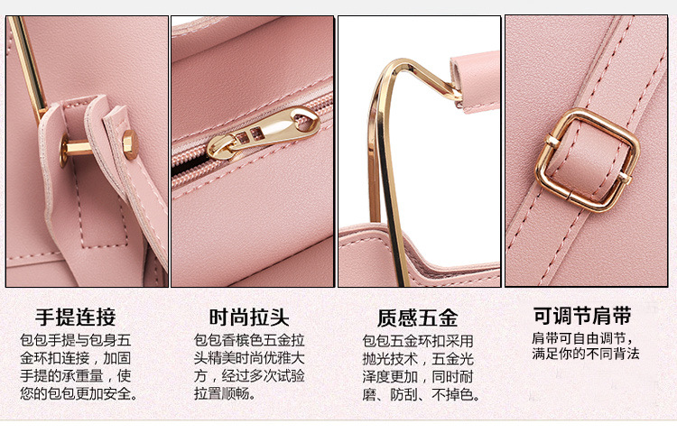 casual lady shoulder handbags