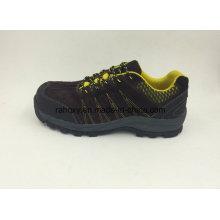 Daim marron en cuir résistant à l'usure nouveau conçu des chaussures de sécurité en plein air (16067)