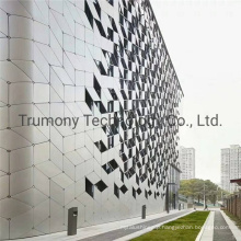 Customized Size Interior and External Fireproof Waterproof Aluminum Composite Panels for Decorative Building Materials 3D Wall Panels