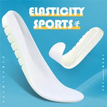 Белая спортивная стелька из полиуретана