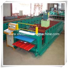 5 Tonnen Abhaspel Doppelschicht Roll Formmaschine