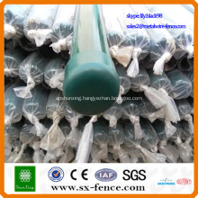 wire mesh fence posts