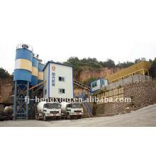 Автоматическая машина для бетонных работ HZS90 HOT SALE