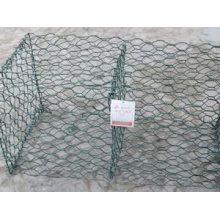 Kunststoffüberzogene gewebte Maschendraht-Gabionen