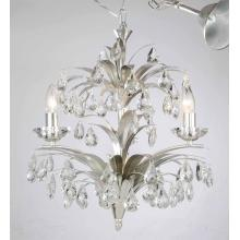 Iron Silver Color with Crystal Chandelier Pendant Light (SD1183/3)