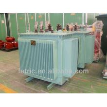 Three phase oil immersed 50 or 60hz 500kva 13.2kv-7.62kv/240v power transformer