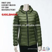 Goose feather jacket bomber wholesale 2017 design