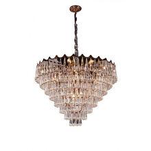 Modern Project Lighting Luxury Hanging Pendant Design Hotel Low Ceiling Glass Chandelier