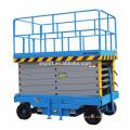 four wheel mobile manlift