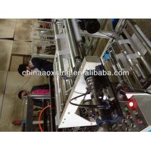 Control de computadora rodando camiseta y bolsa plana que hace la máquina bolsa de plástico de compras que hace el precio de la máquina