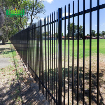 Anti Rust PVC Bersalut Galvanized Wall Boundary Steel Fence Design