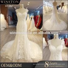 New Design Custom Made china guangzhou wedding dress