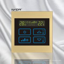 Interrupteur tactile de thermostat d'air dans cadre acrylique (SK-AC100B)