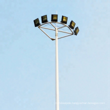 factory direct supply customized 25m 30m high mast lighting pole for stadium lighting with good price