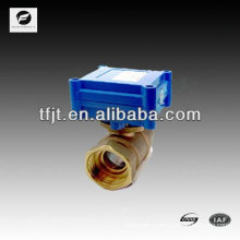 CWX-1.0 2 way electric valve with motor actuator for chilled water