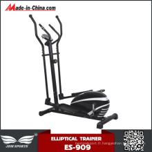 Machine elliptique magnétique de vélo d'entraîneur de croix de corps