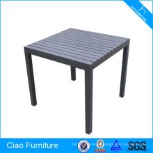 Пластичный деревянный материал и столовая мебель стол