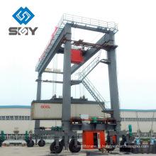 Grue de portique de récipient de pneu de grue de RTG de prix usine / usine