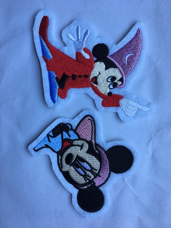 Shape Embroidery Patch