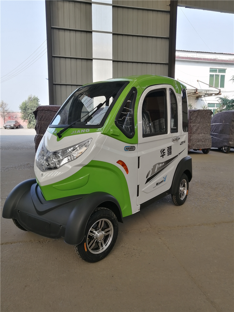 Green electric four wheel