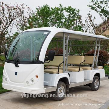 11 Sitzer hoher Qualität gasbetriebener neuer Passagier-Zubringerbus zu verkaufen