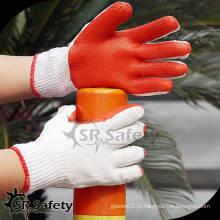 SRSAFETY 10G Вязаные резиновые рабочие перчатки / пленка латексные перчатки рабочие перчатки хлопчатобумажные перчатки