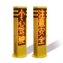 semáforo de columna de aviso de rejilla óptica
