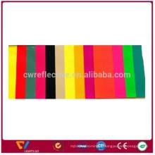 Tissu extensible réfléchissant coloré à double face durable