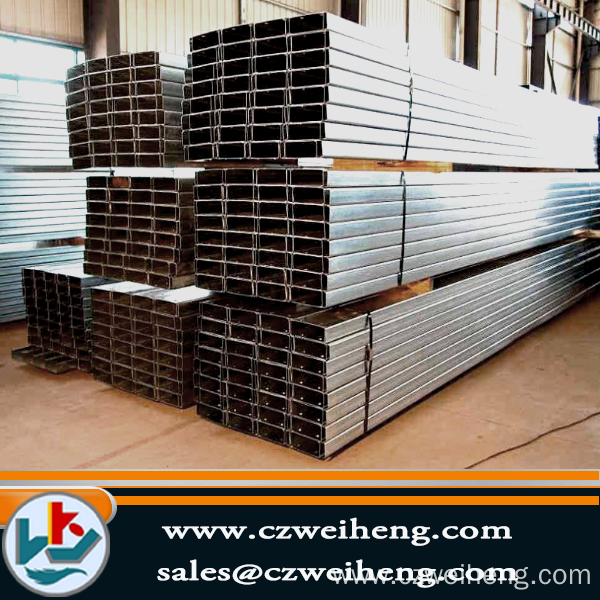 hot-dip galvanized square tube