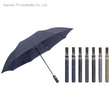 2 Section Auto Open Good Printings with Quality Umbrella