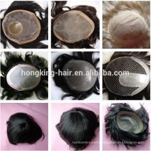 accept large custom order Real Hair toupee's for men