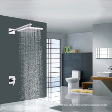 Einfache Unterputz-Thermostat-Dusche-Mixer Moderne Dusche mit quadratischen Duschkopf OEM-Fabrik