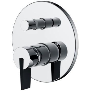 2-Function Brass Shower Mixer Valve Control Shower Faucet