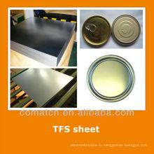 EN10202 Стандартный олова бесплатно стальной лист для пищи может закончиться