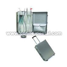 Tipo de bagagem de equipo odontológico portátil