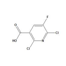 2, 6-Dichloro-5-Fluoronicotinic Acid CAS No. 82671-06-5