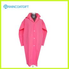 Плащ мода розовый мягкий EVA женская с длинным рукавом РВК-159