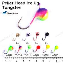 Top Qualité Pêche Pellet Pellet Jig Tungsten